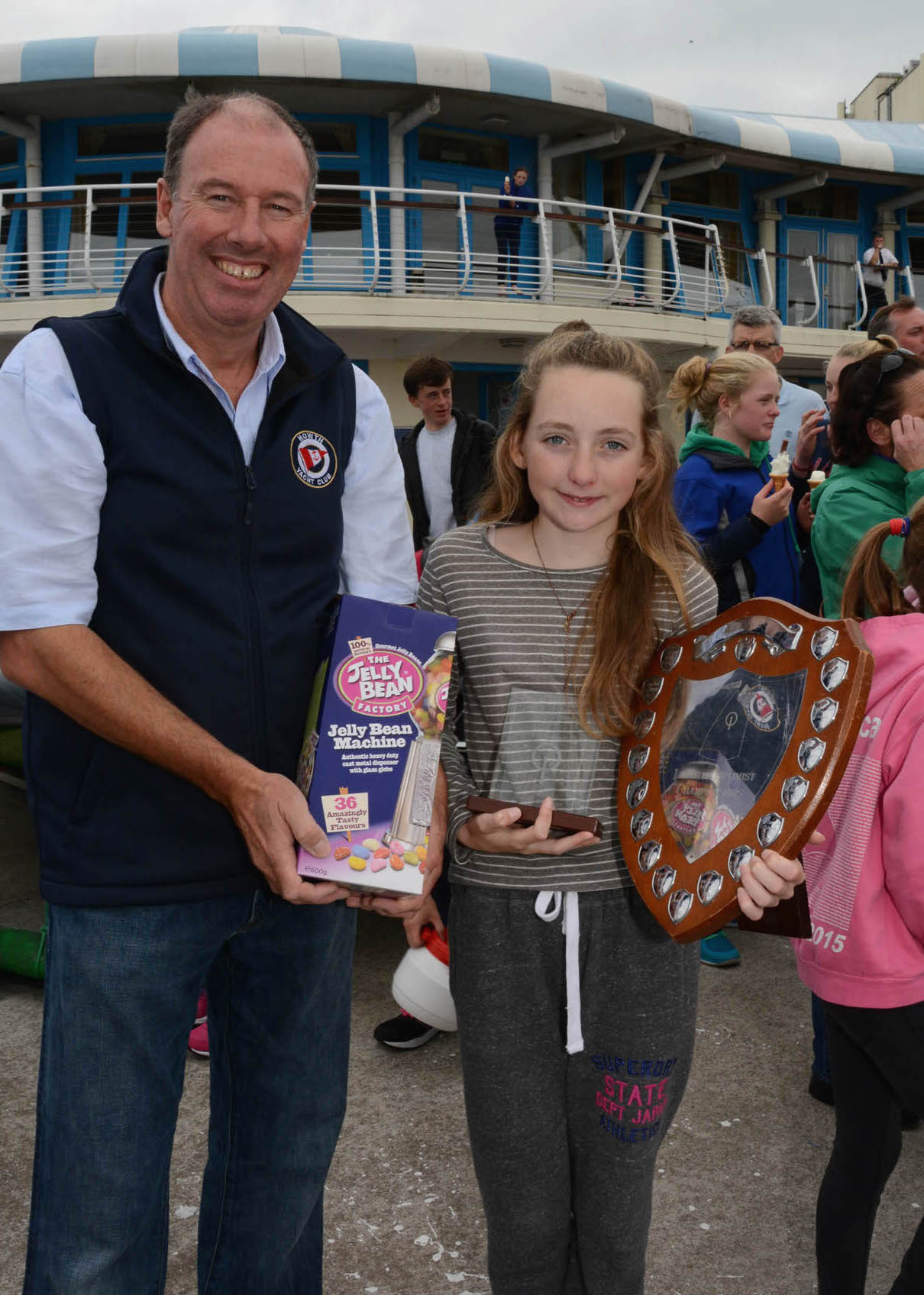 RCYC's Aoife Byrne - winner of the Junior Gold Fleet