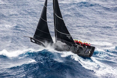 Rupert Henry's Judel Vrolijk 62 'Chinese Whisper - with HYC's Shane Diviney onboard