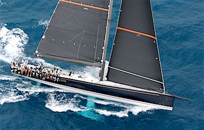 The 72ft maxi 'Bella Mente'