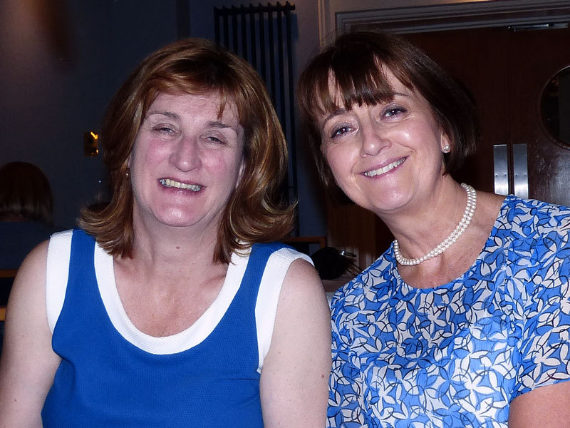 Kathleen Cull and Mary Kearns