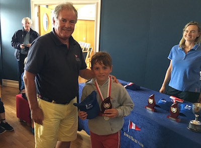 Oisin Kelly - 3rd place in the Regatta Fleet