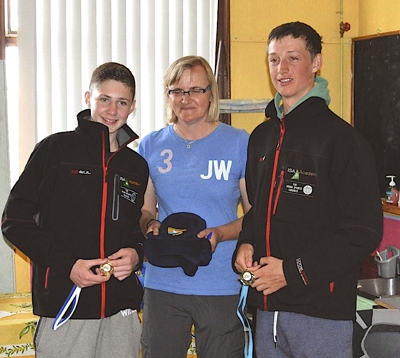 Ewan McMahon and Colin O'Sullivan pick up 3rd prize at the 420 Connacht Championships
