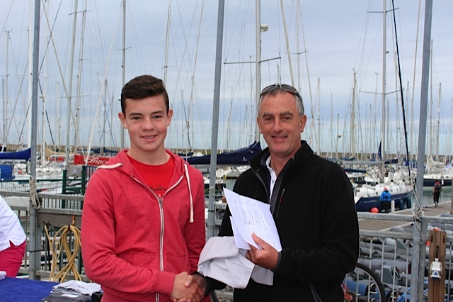 Laser 4.7s - 1st place Oisin O'Connor fro Clontarf Yacht & Boat Club