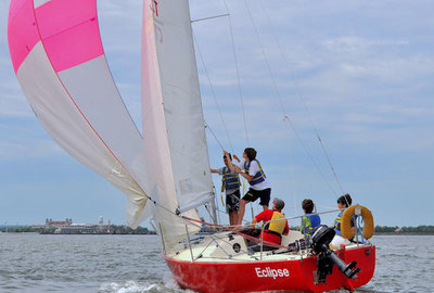Transition Year and sailing - a perfect match