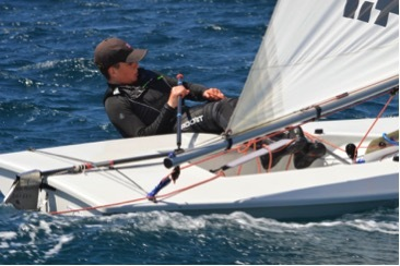 Shane O'Brien joins a transition year sailing programme in France