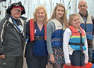'Boat for Hope' event entertains 50 special guests and their families