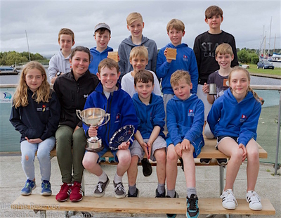 Congratulations to the HYC Optimist team following their Nationals