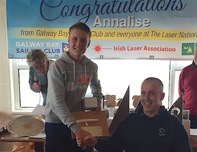 Report from the Laser Nationals in Galway