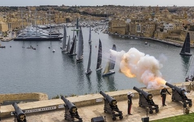 'Bam' go for podium in Malta to complete 2016 RORC season