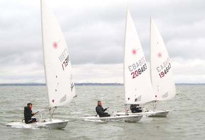 Spring Frostbites finish ahead of next week's 'Round the Island Race'