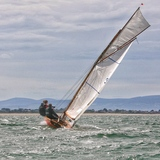 'Leila' powers upwind